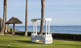 Frontline beach Balinese style villa for sale in the East of Marbella 13218