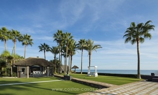 Frontline beach Balinese style villa for sale in the East of Marbella 13225