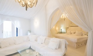 Frontline beach Balinese style villa for sale in the East of Marbella 13229