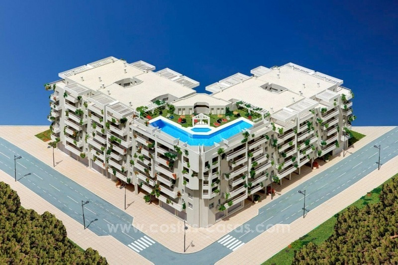 Project of new bargain 2, 3 and 4 bedrooms apartments for sale in Nueva Andalucía, Marbella