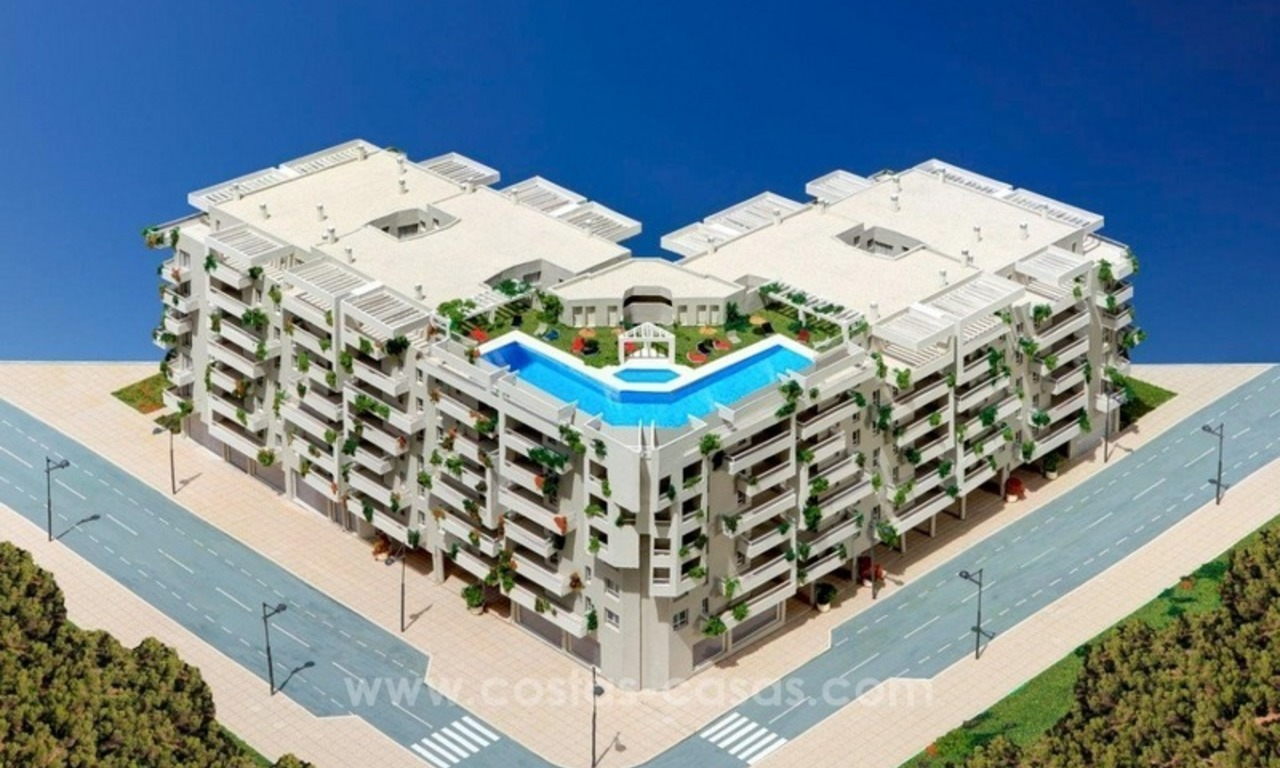 Project of new bargain 2, 3 and 4 bedrooms apartments for sale in Nueva Andalucía, Marbella 0