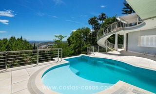 Villa for sale in Benahavis - Marbella: Exceptional Design and architecture, Exceptional Views in Exclusive El Madroñal 3