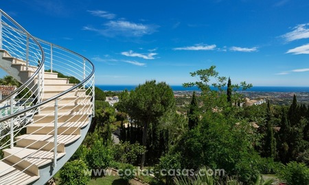 Villa for sale in Benahavis - Marbella: Exceptional Design and architecture, Exceptional Views and Extreme comfort in Exclusive El Madroñal 5