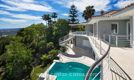 Villa for sale in Benahavis - Marbella: Exceptional Design and architecture, Exceptional Views and Extreme comfort in Exclusive El Madroñal 7