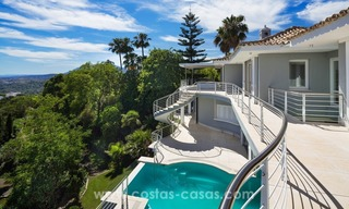 Villa for sale in Benahavis - Marbella: Exceptional Design and architecture, Exceptional Views in Exclusive El Madroñal 7