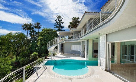 Villa for sale in Benahavis - Marbella: Exceptional Design and architecture, Exceptional Views and Extreme comfort in Exclusive El Madroñal 8