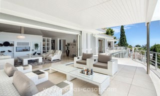 Villa for sale in Benahavis - Marbella: Exceptional Design and architecture, Exceptional Views in Exclusive El Madroñal 12