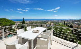 Villa for sale in Benahavis - Marbella: Exceptional Design and architecture, Exceptional Views in Exclusive El Madroñal 15