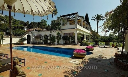 Exclusive Andalusian Villa for Sale in Marbella - Benahavis