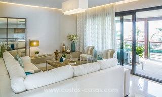 New modern apartments for sale in Benahavis - Marbella with golf and sea views. Last units, key ready. 6% Discount! 7327