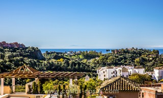 New modern apartments for sale in Benahavis - Marbella with golf and sea views. Last units, key ready. 6% Discount! 7356