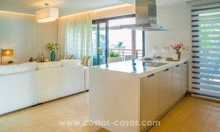New modern apartments for sale in Benahavis - Marbella with golf and sea views. Last units, key ready. 6% Discount! 7338