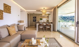 New modern apartments for sale in Benahavis - Marbella with golf and sea views. Last units, key ready. 6% Discount! 7367