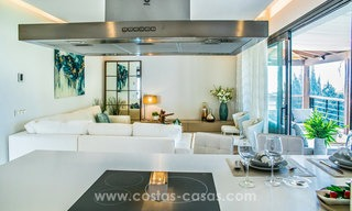 New modern apartments for sale in Benahavis - Marbella with golf and sea views. Last units, key ready. 6% Discount! 7339