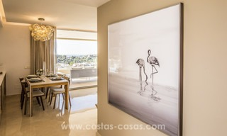 New modern apartments for sale in Benahavis - Marbella with golf and sea views. Last units, key ready. 6% Discount! 7374
