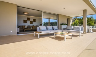 New modern apartments for sale in Benahavis - Marbella with golf and sea views. Last units, key ready. 6% Discount! 7379