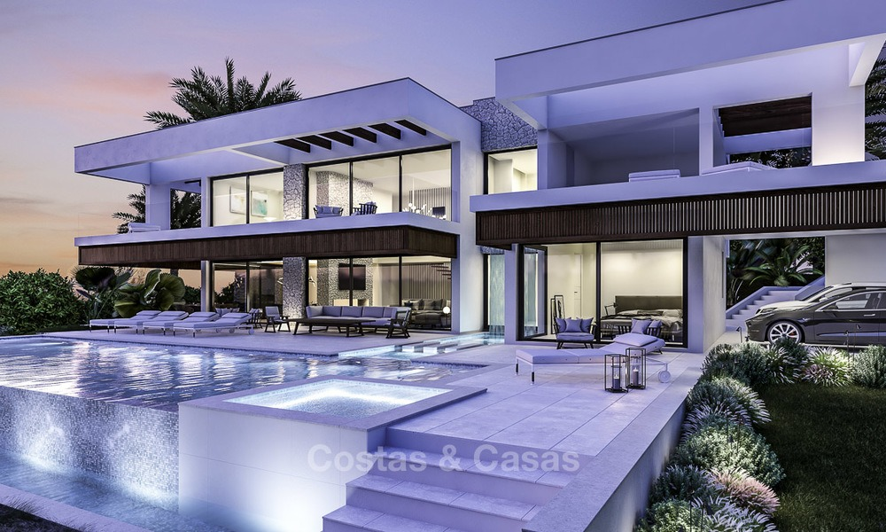 Brand new contemporary villa in the heart of the golf valley, Nueva Andalucía, Marbella 12933