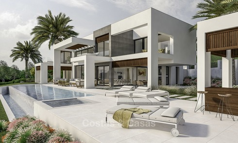 New modern villa in the heart of the golf valley, Nueva Andalucía, Marbella 12930