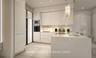 Modern luxury apartments for sale with sea view at a few minutes' drive from Marbella center 4652