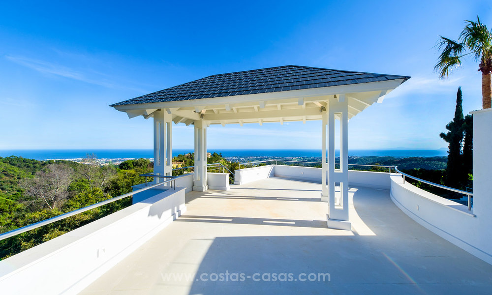 State Of The Art Designer Villa & Sea Views in La Zagaleta, Benahavis - Marbella 21123