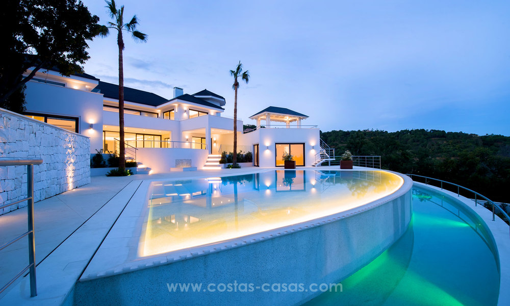 State Of The Art Designer Villa & Sea Views in La Zagaleta, Benahavis - Marbella 21130