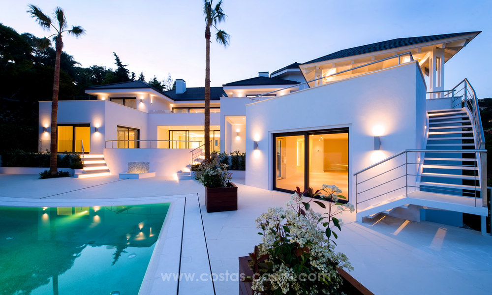 State Of The Art Designer Villa & Sea Views in La Zagaleta, Benahavis - Marbella 21131