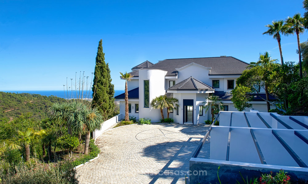 State Of The Art Designer Villa & Sea Views in La Zagaleta, Benahavis - Marbella 21142
