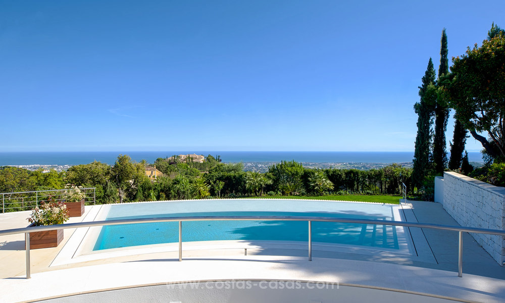 State Of The Art Designer Villa & Sea Views in La Zagaleta, Benahavis - Marbella 21150