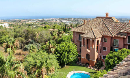 Spacious luxury apartments for sale in Benahavis - Marbella with beautiful sea views. Discount up to 33% until 31/8 5034