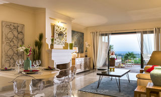 Spacious luxury apartments for sale in Benahavis - Marbella with beautiful sea views. Discount up to 44% Off 5064