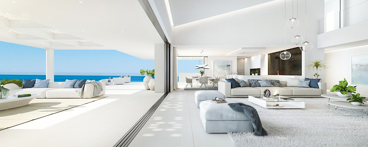 Exclusive New, Modern Beachfront Apartments for sale, New Golden Mile, Marbella - Estepona