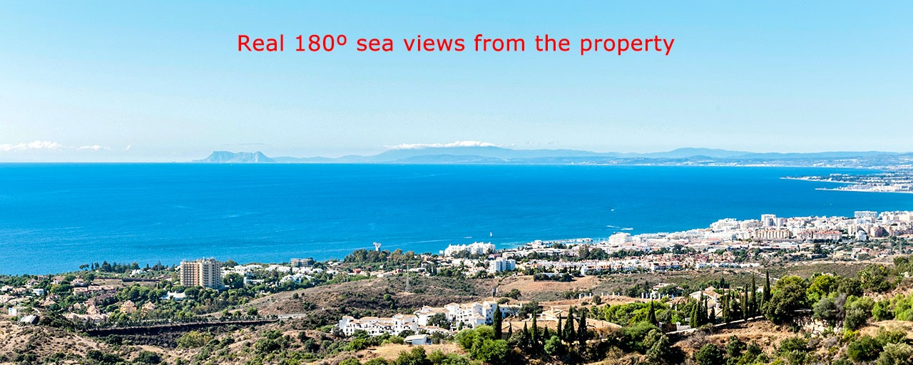Opportunity! Luxury Modern Apartment For Sale in Marbella with breathtaking sea view, ready to move in