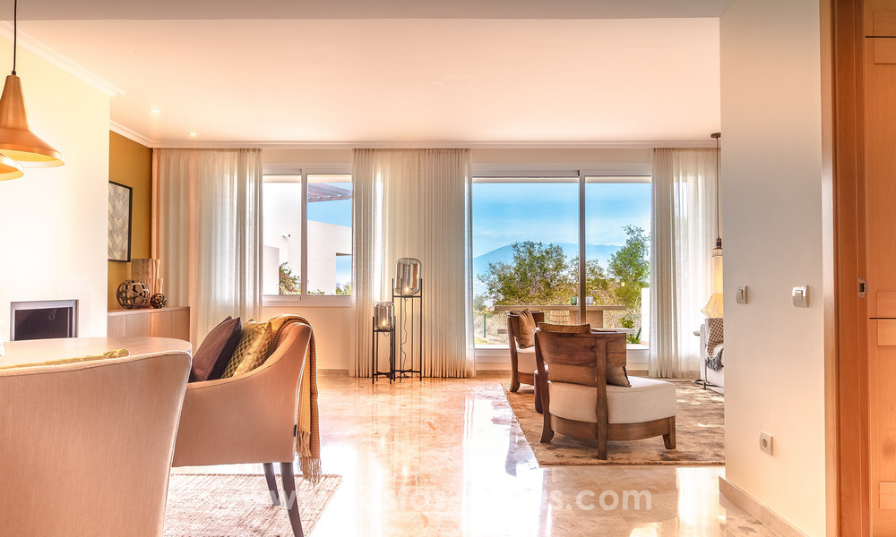New luxury Andalusian style apartments for sale in Marbella 21548