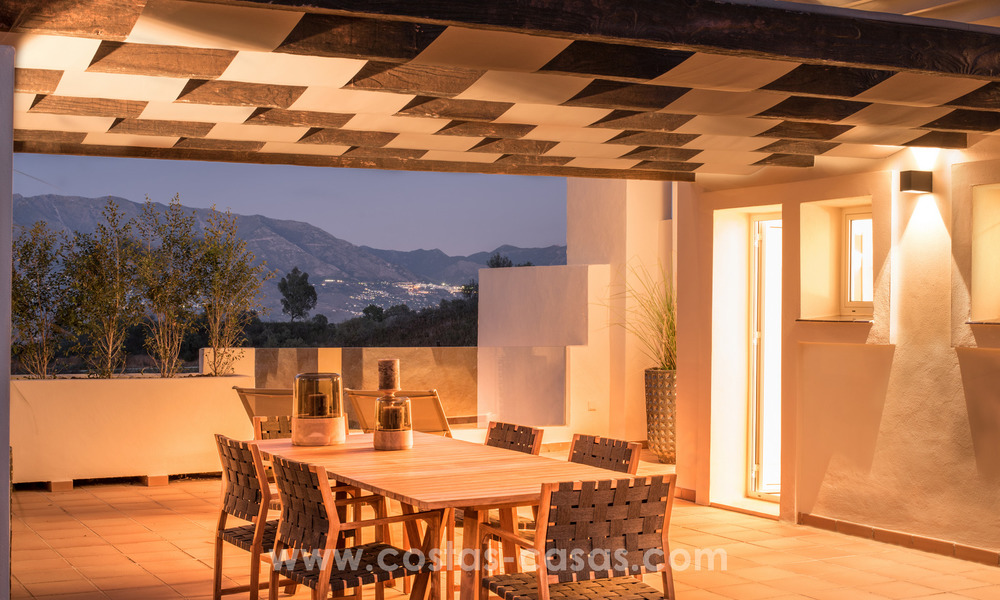 New luxury Andalusian style apartments for sale in Marbella 21550