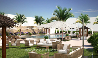 New luxury Andalusian style apartments for sale in Marbella 21552
