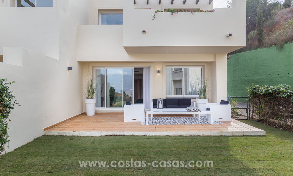 New luxury Andalusian style apartments for sale in Marbella 21558