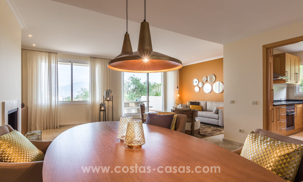 New luxury Andalusian style apartments for sale in Marbella 21560