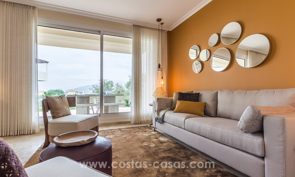 New luxury Andalusian style apartments for sale in Marbella 21564