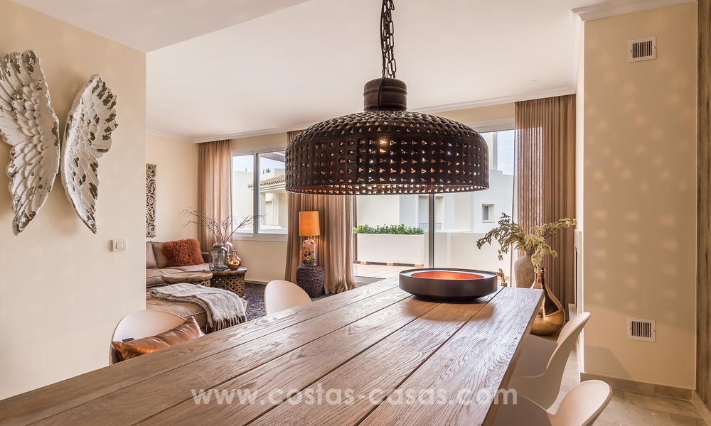 New luxury Andalusian style apartments for sale in Marbella 21575