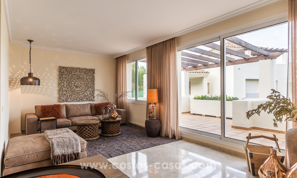 New luxury Andalusian style apartments for sale in Marbella 21576