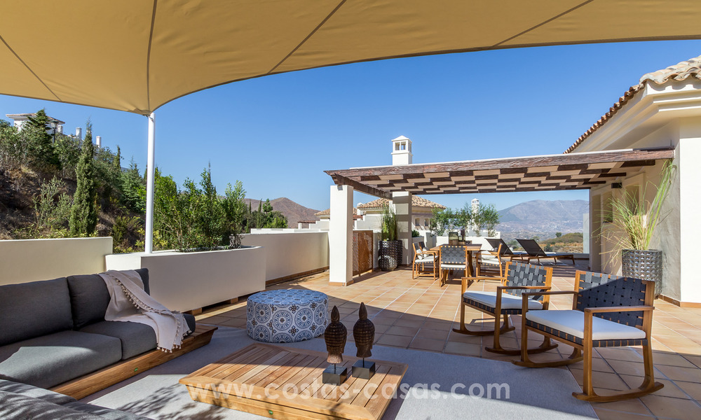 New luxury Andalusian style apartments for sale in Marbella 21585