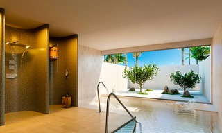 Spectacular modern luxury frontline beach apartments for sale in Estepona, Costa del Sol 3835