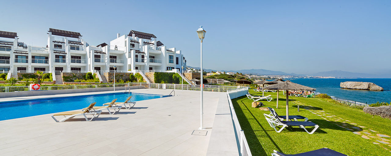 Newly renovated frontline beach apartments for sale, ready to move in, Casares, Costa del Sol
