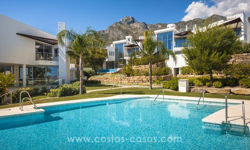 Modern luxury Townhouses for sale in Sierra Blanca, Golden Mile, Marbella 7383
