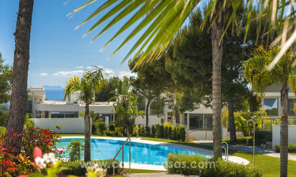 Modern luxury Townhouses for sale in Sierra Blanca, Golden Mile, Marbella 7386