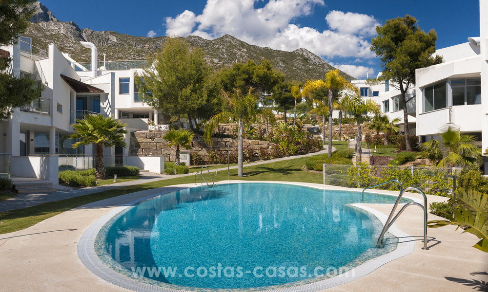 Modern luxury Townhouses for sale in Sierra Blanca, Golden Mile, Marbella 7387