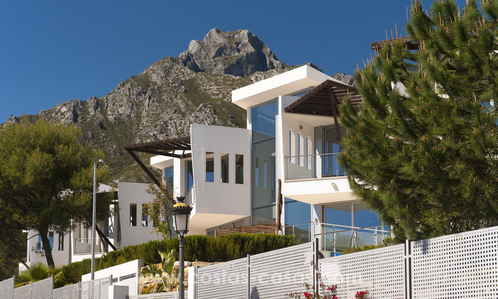 Modern luxury Townhouses for sale in Sierra Blanca, Golden Mile, Marbella 7388