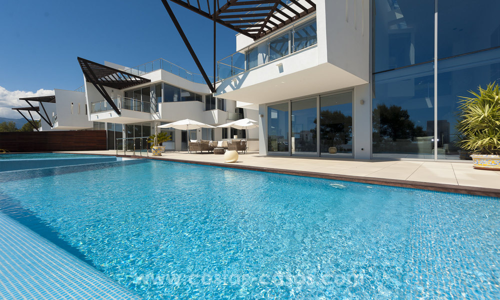 Modern luxury Townhouses for sale in Sierra Blanca, Golden Mile, Marbella 7408