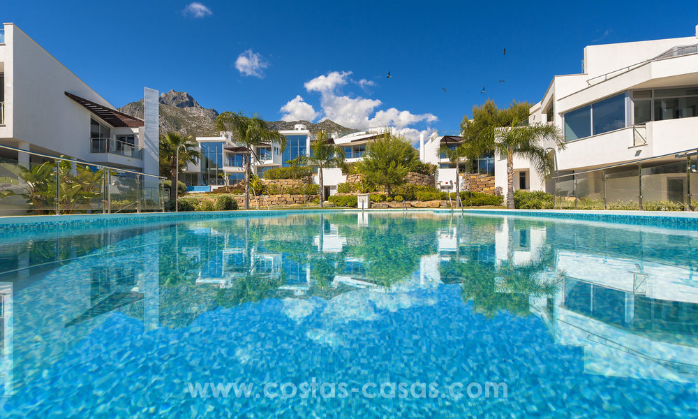 Modern luxury Townhouses for sale in Sierra Blanca, Golden Mile, Marbella 7384