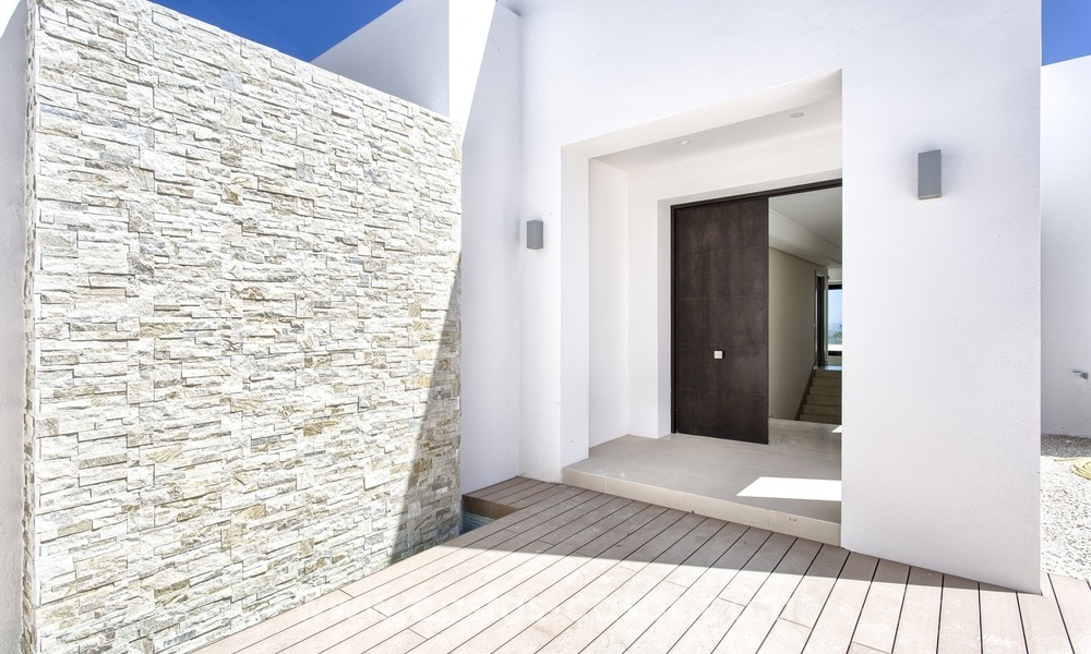 Modern new villa for sale with sea view in Benahavis - Marbella 263